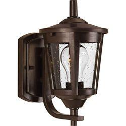Progress Lighting Fluorescente de Mini suspension à 1 Lumière, Collection Haven - fini Bronze de Cuivre