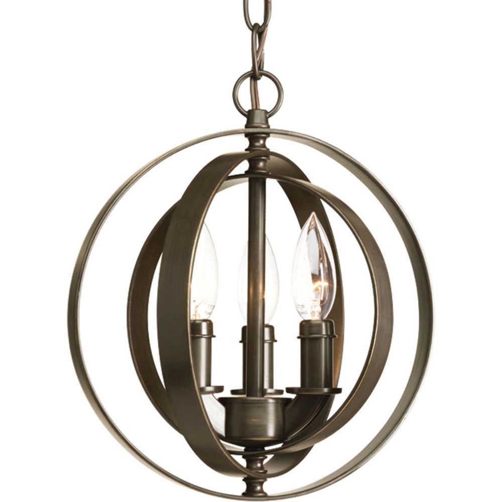 Kitchen Light Fixture Canada: Progress Lighting Equinox Collection 3-Light Pendant