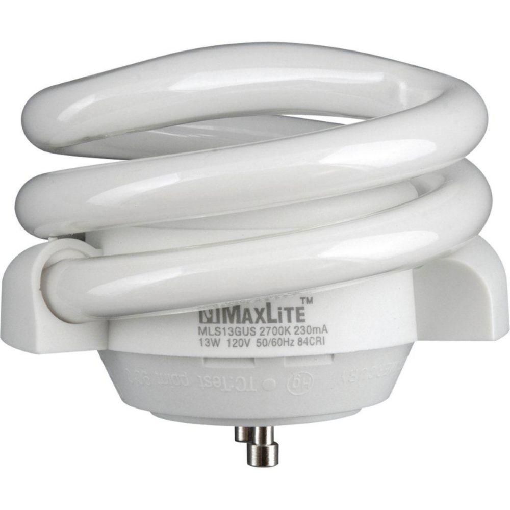 13-watt GU-24 Self-ballasted Compact Fluorescent Bulb, 2700K