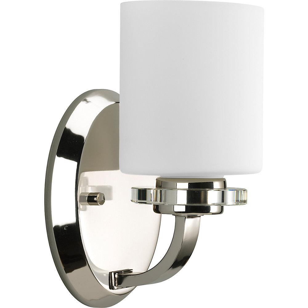 Nisse Collection Polished Nickel 1-light Bath Light