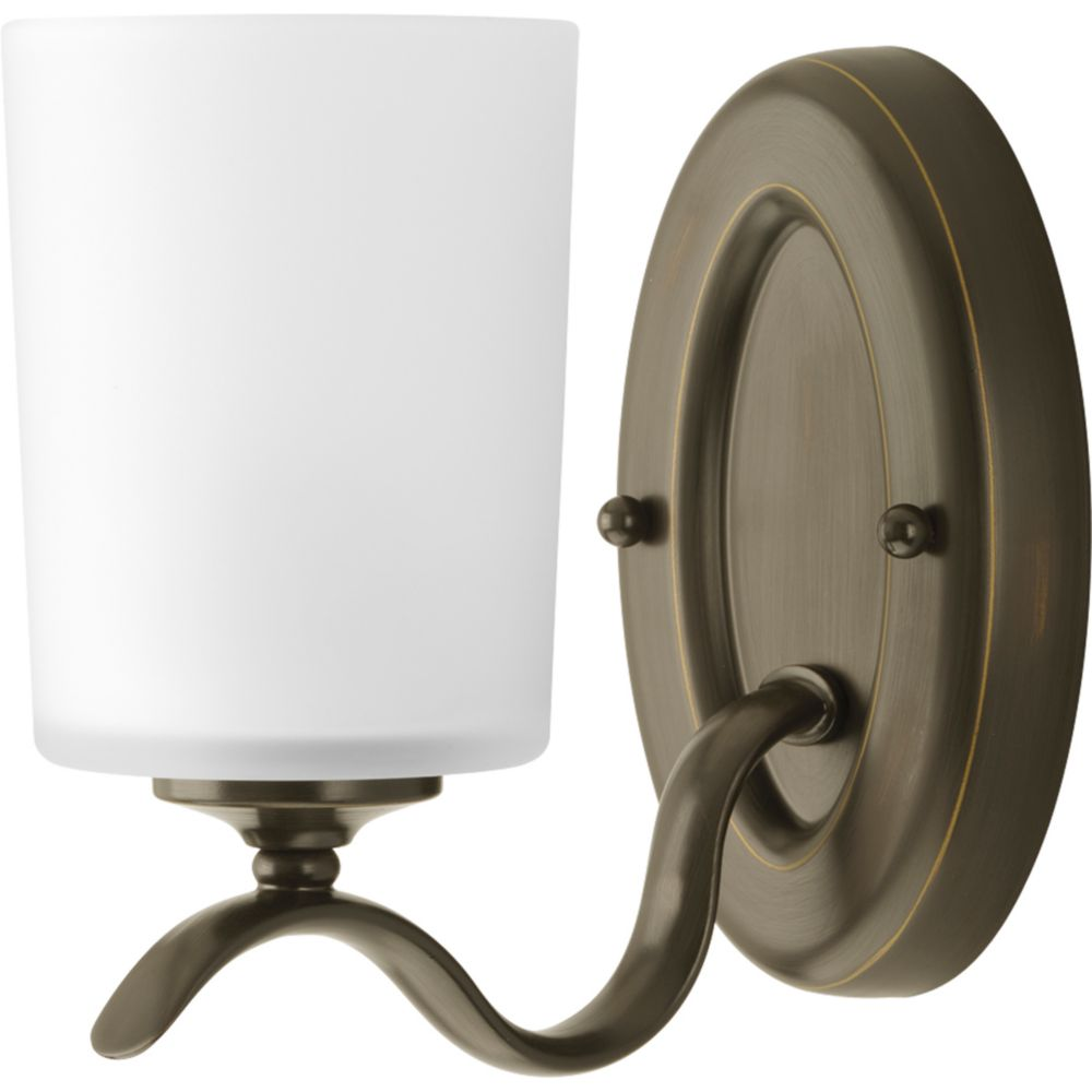Inspire Collection Antique Bronze 1-light Bath Light