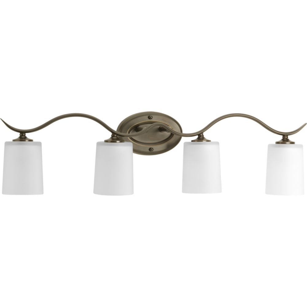 Inspire Collection Antique Bronze 4-light Bath Light 7.85247E 11 in Canada