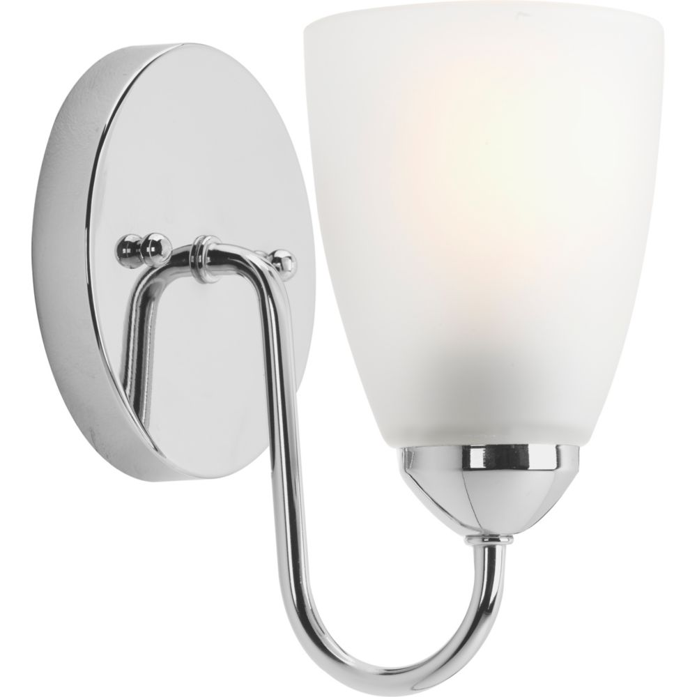 Gather Collection 1-light Polished Chrome Bath Light