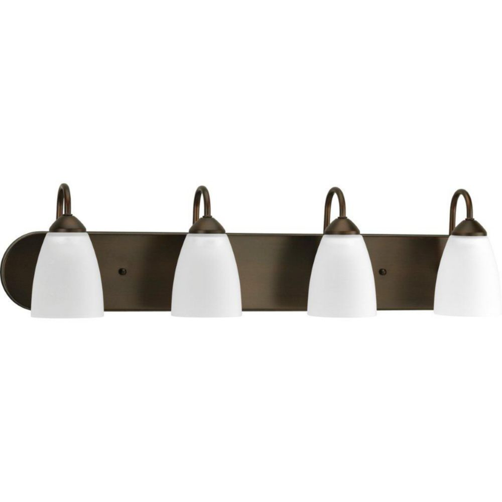 Gather Collection Antique Bronze 4-light Bath Light