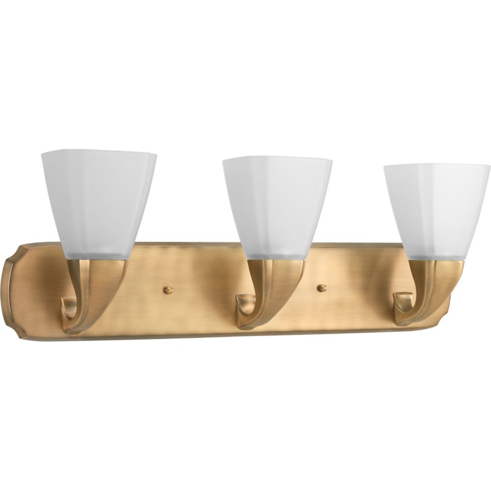 Addison Collection Brushed Bronze 3-light Bath Light