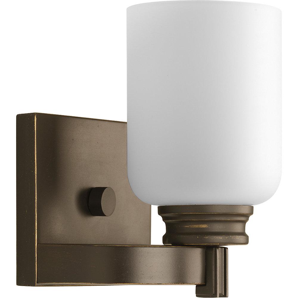 Orbit Collection Antique Bronze 1-light Bath Light