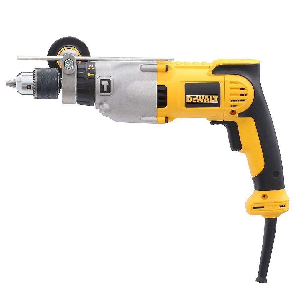 10 Amp 1/2-inch Variable Speed Reversible Pistol Grip Hammer Drill