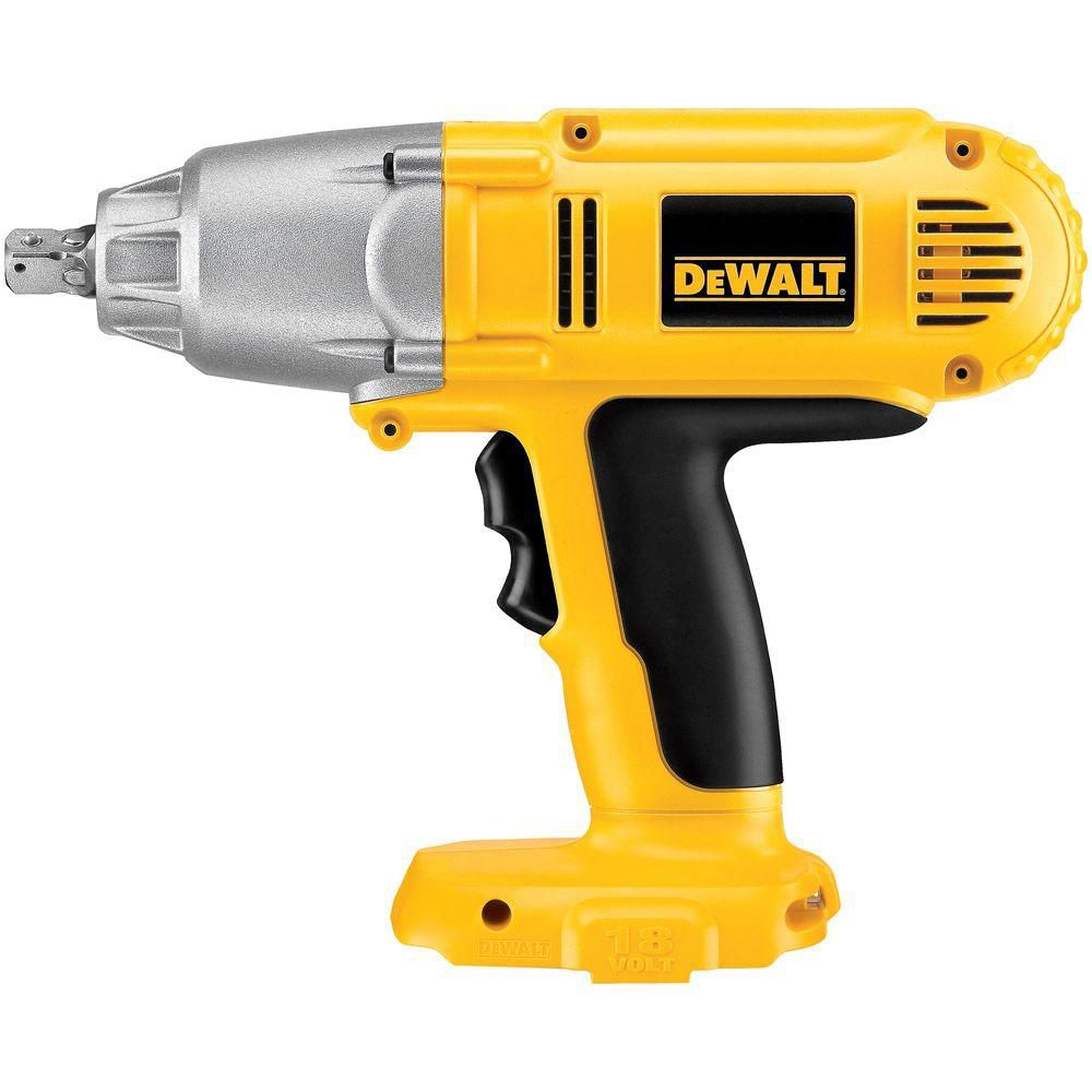 18V 1/2-inch High Torque Impact Wrench (Tool Only)