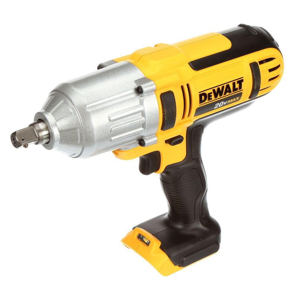 DEWALT 20V MAX Li-Ion Cordless 1/2-inch High Torque Impact Wrench with Detent Pin (Tool-Only)