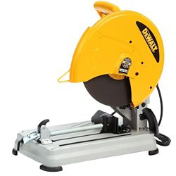 DEWALT 14-Inch Cut-Off Chop Saw With Quick-Change Wheel Release