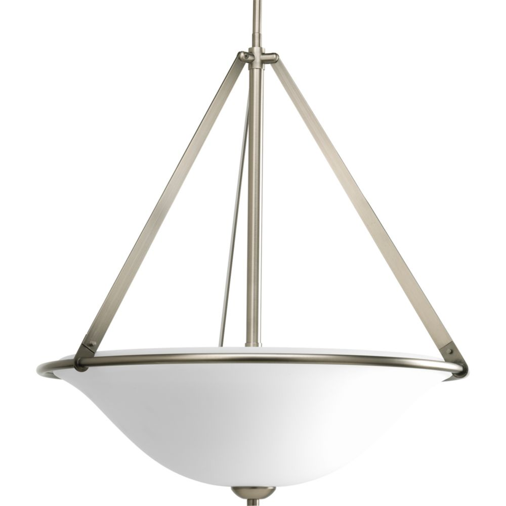 Moments Collection Antique Nickel 3-light Foyer Pendant