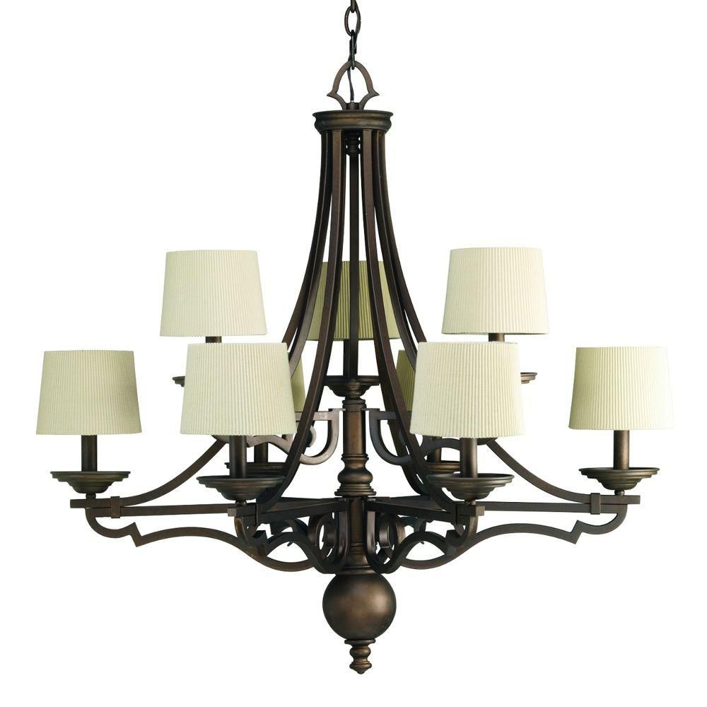 Meeting Street Collection 9-light Roasted Java Chandelier