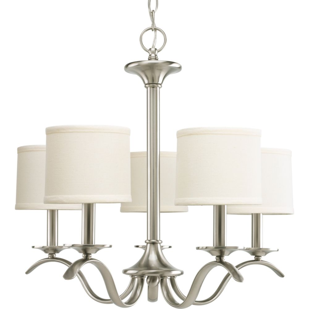 Inspire Collection Brushed Nickel 5-light Chandelier
