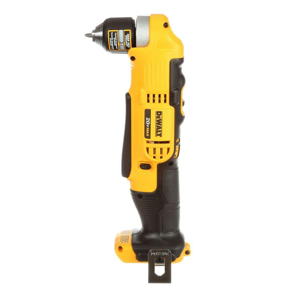 DEWALT 20V MAX 3/8-inch Right Angle Drill/Driver (Tool Only)