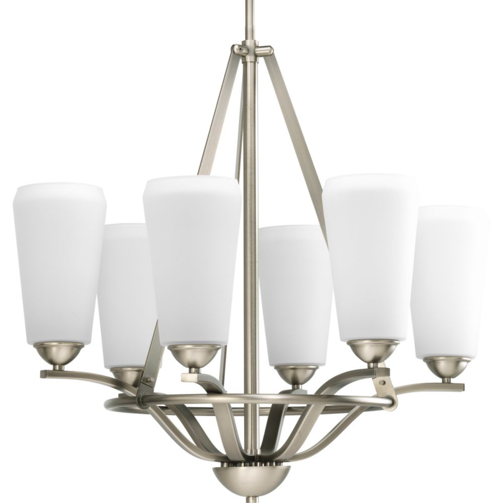 Moments Collection Antique Nickel 5-light Chandelier