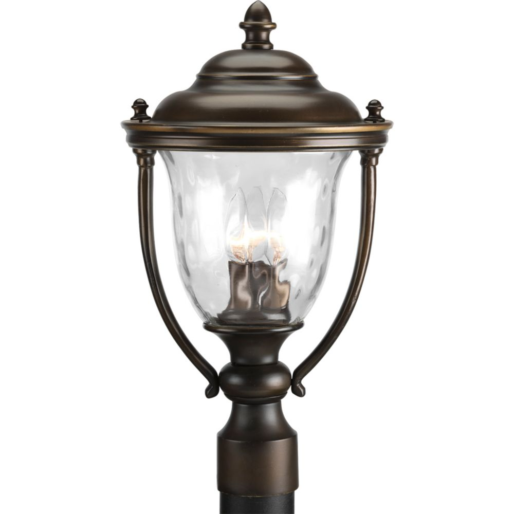 Prestwick Collection 2-light Oil Rubbed Bronze Post Lantern