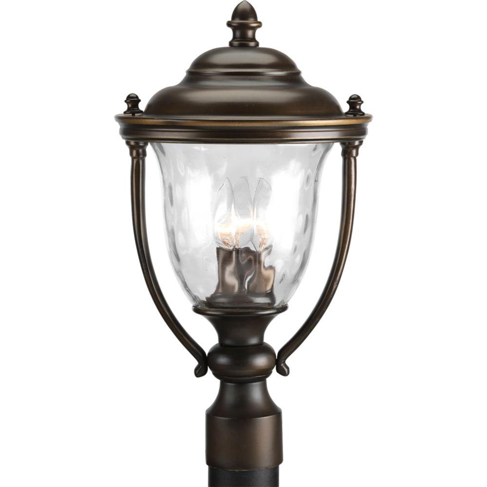 Prestwick Collection 2-light Oil Rubbed Bronze Post Lantern