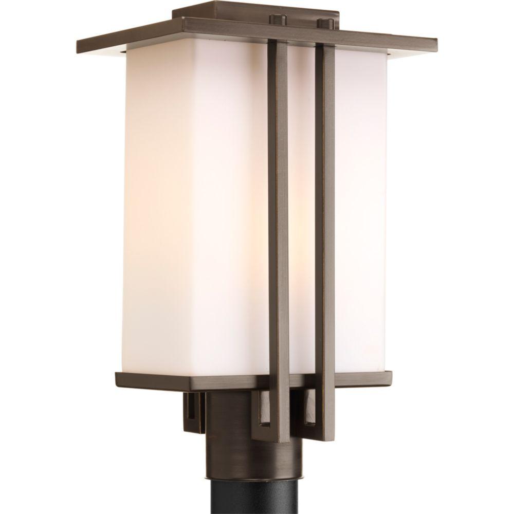 Lampadaire à 1 Lumière, Collection Dibs - fini Bronze à l'Ancienne