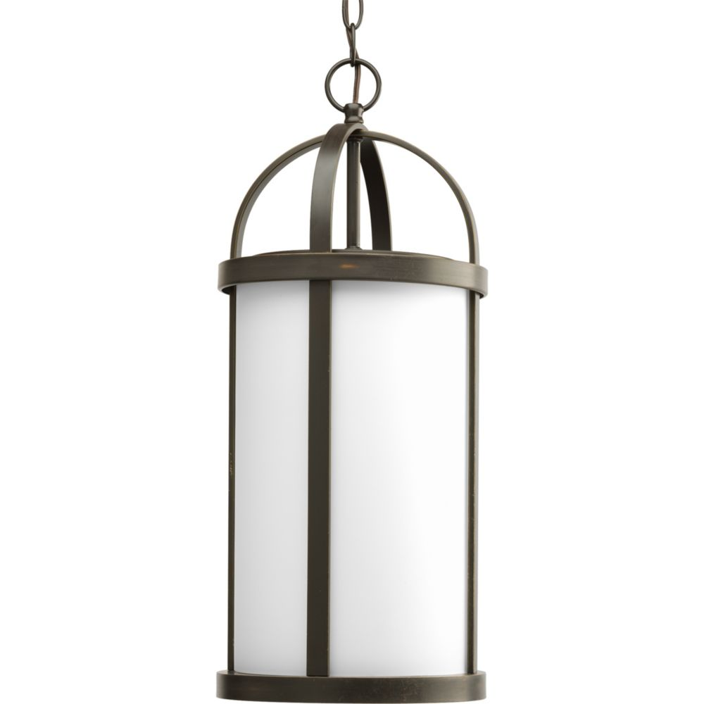 Progress Lighting Greetings Collection Antique Bronze 1-light Hanging Lantern