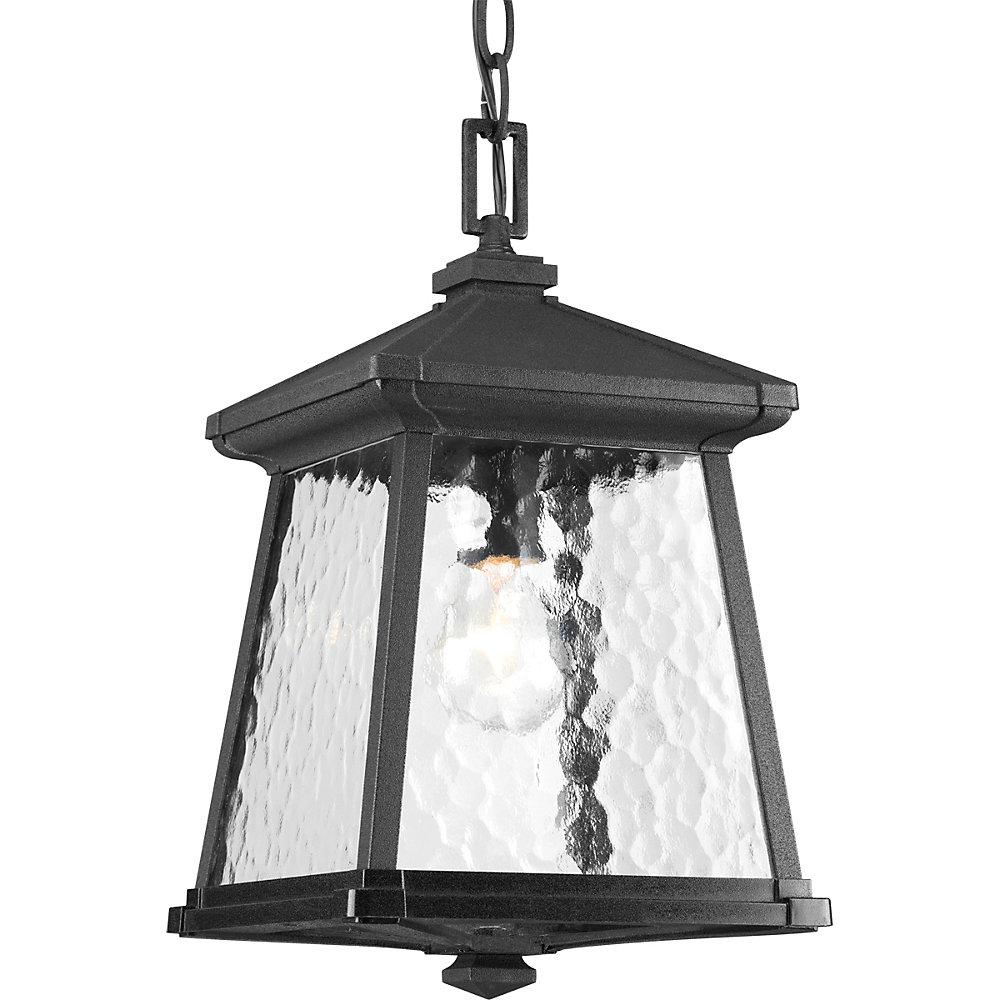 Mac Collection 1-light Black Hanging Lantern