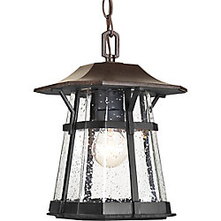 Progress Lighting Derby Collection 1-light Espresso Hanging Lantern