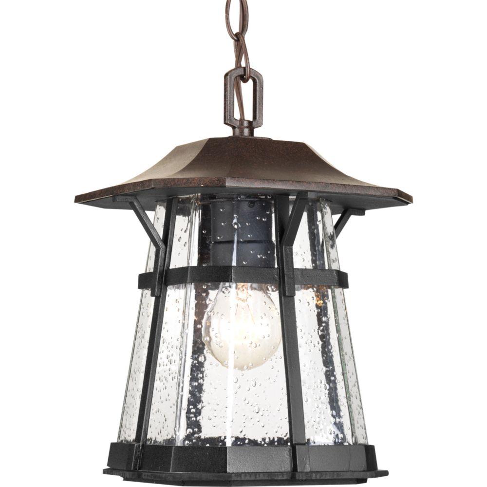 Derby Collection 1-light Espresso Hanging Lantern