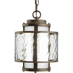Progress Lighting Bay Court Collection Antique Bronze 1-light Hanging Lantern