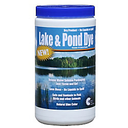 Outdoor Water Solutions Lake and Pond Dye, 2 Dry Water Soluble Pouches