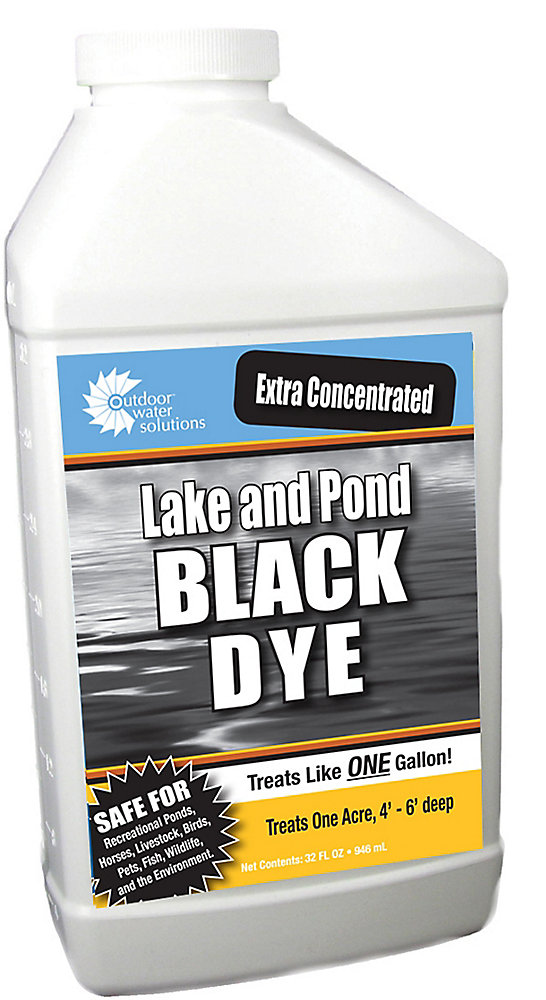 Black Super Concentrate Lake and Pond Dye