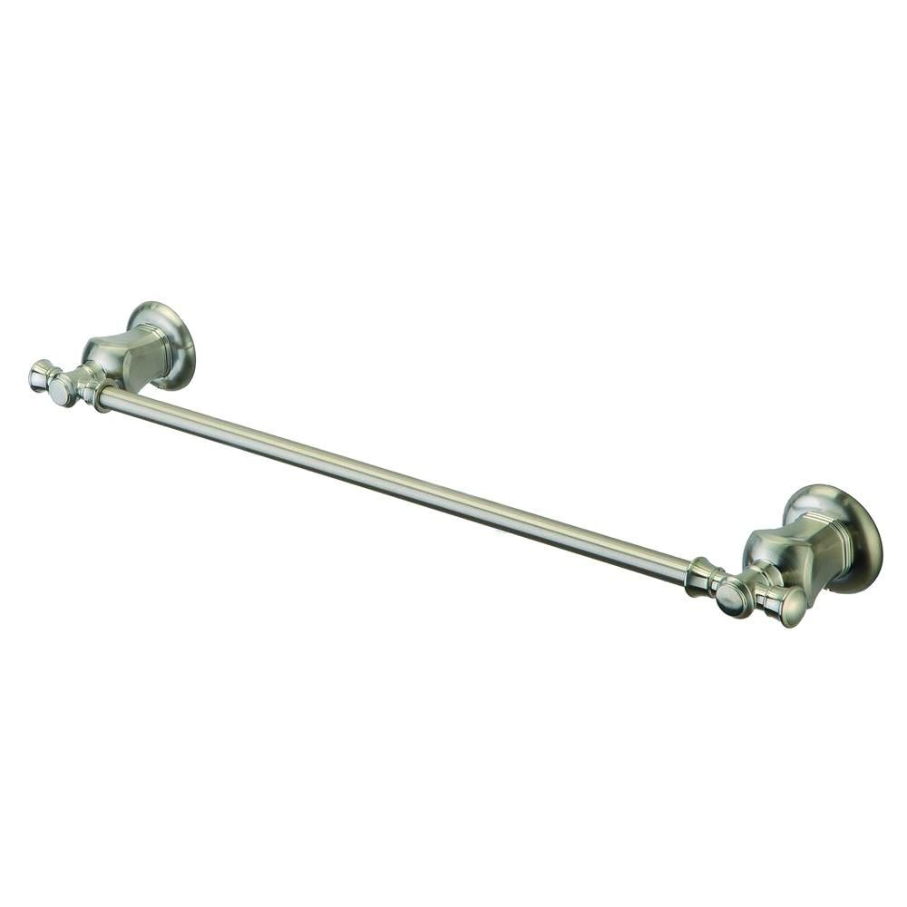 Verdanza 24 Inch Towel Bar in Brushed Nickel