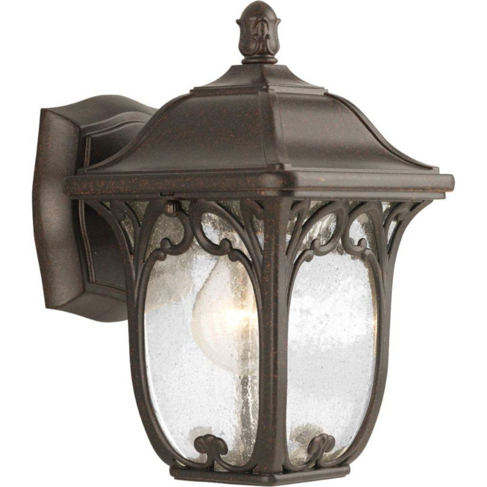 Enchant Collection Espresso 1-light Wall Lantern