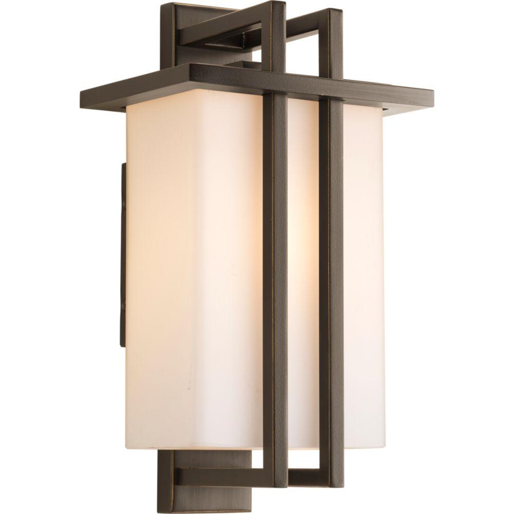 Progress Lighting Dibs Collection 1-light Antique Bronze Wall Lantern