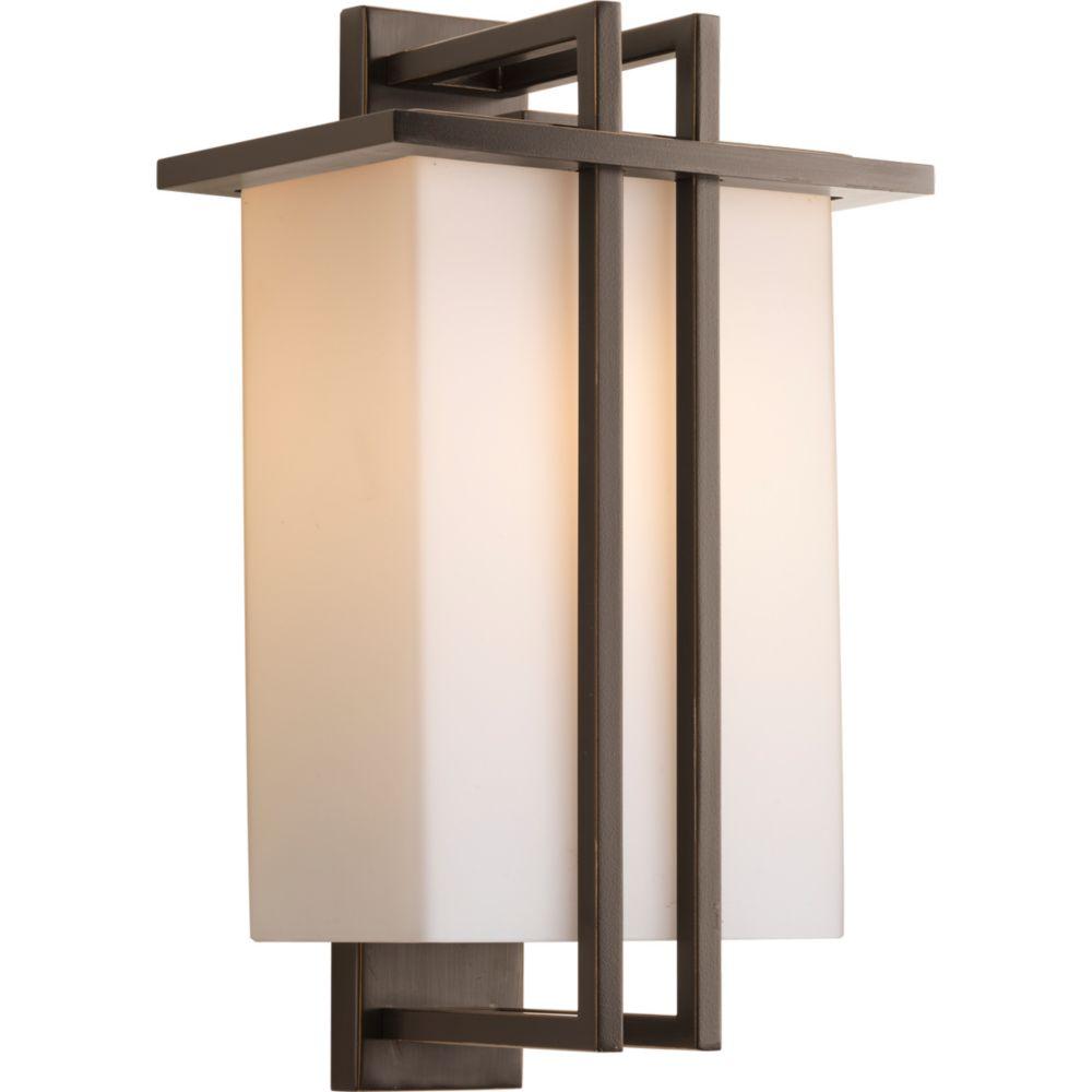 Dibs Collection 1-light Antique Bronze Wall Lantern