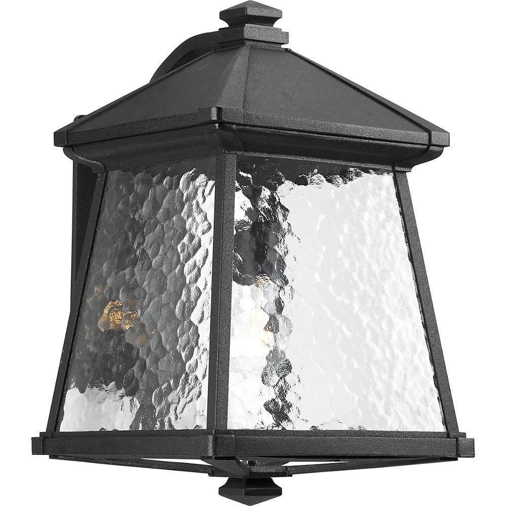 Mac Collection 1-light Black Wall Lantern