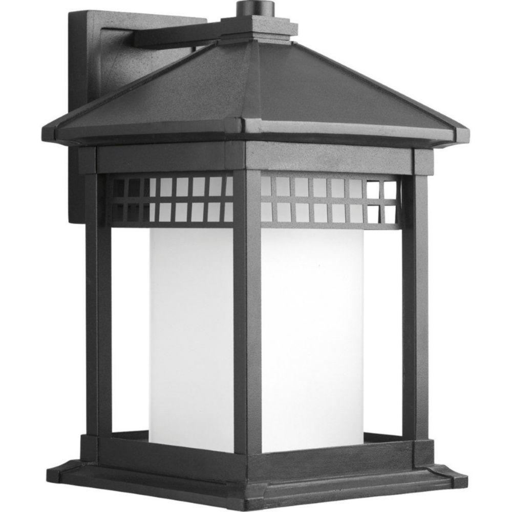 Merit Collection Black 1-light Wall Lantern