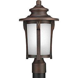 Progress Lighting Lampadaire à 1 Lumière, Collection Pedigree - fini Brouillard d'Automne