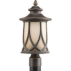 Progress Lighting Lampadaire à 1 Lumière, Collection Resort - fini Cuivre Vieilli