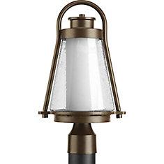 Lampadaire à 1 Lumière, Collection Regatta - fini Bronze à l'Ancienne