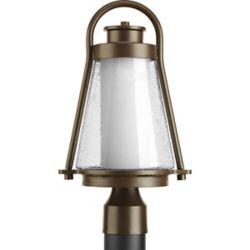 Progress Lighting Lampadaire à 1 Lumière, Collection Regatta - fini Bronze à l'Ancienne