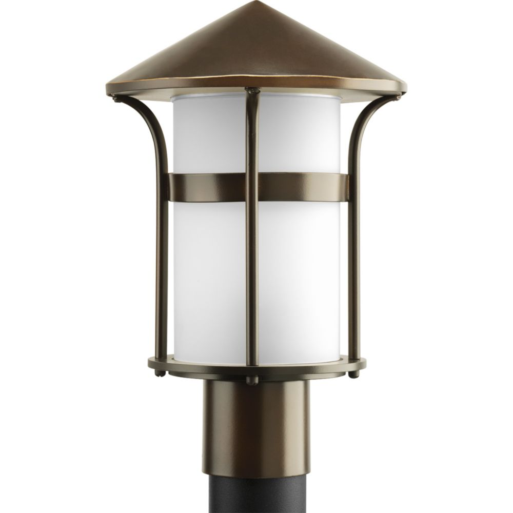 Welcome Collection Antique Bronze 1-light Post Lantern