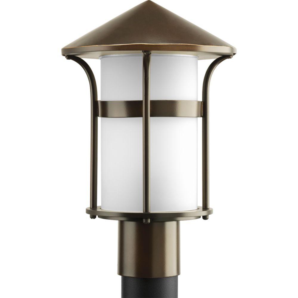 Lampadaire à 1 Lumière, Collection Welcome - fini Bronze à l'Ancienne