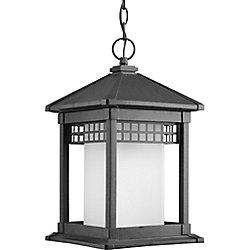 Progress Lighting Lanterne suspendue à 1 Lumière, Collection Merit - fini Noir