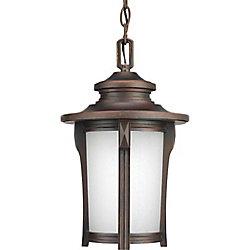 Progress Lighting Lanterne suspendue à 1 Lumière, Collection Pedigree - fini Brouillard d'Automne
