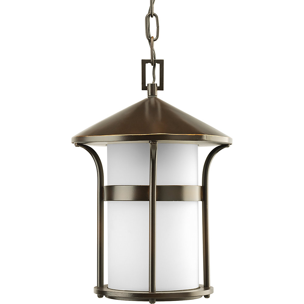 Welcome Collection Antique Bronze 1-light Hanging Lantern