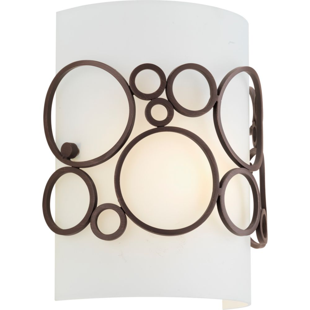 Bingo Collection 1-light Venetian Bronze Wall Sconce