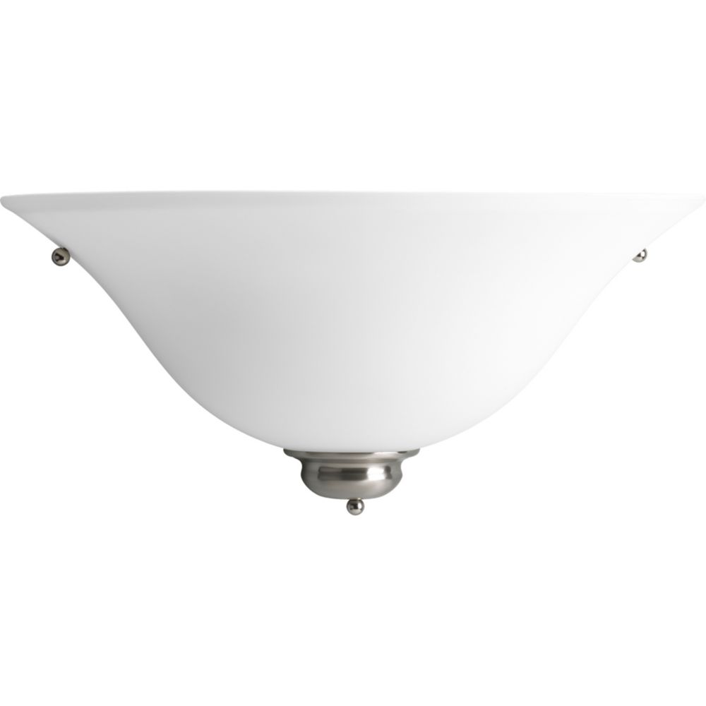 Titan Lighting 1 Light Wall Sconce In Brushed Nickel With Led Option | The Home  Depot Canada