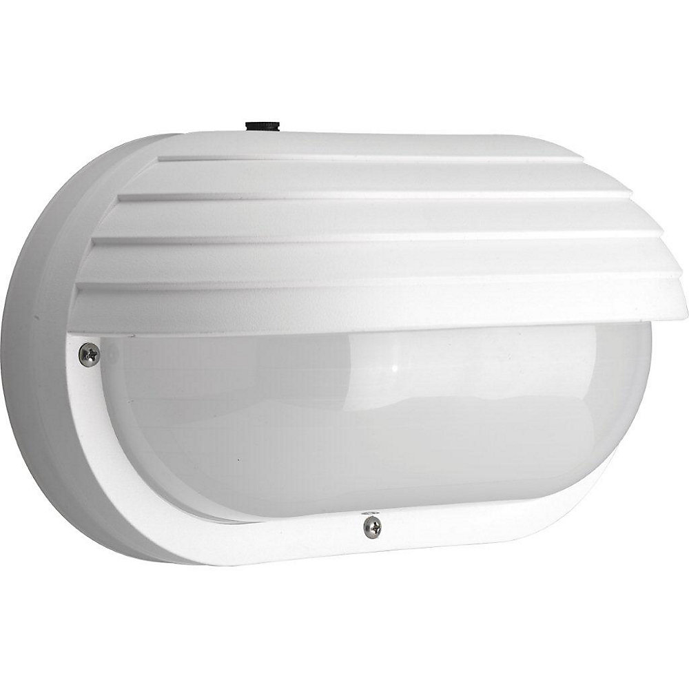 Polycarbonate Collection 2-light White Wall Lantern