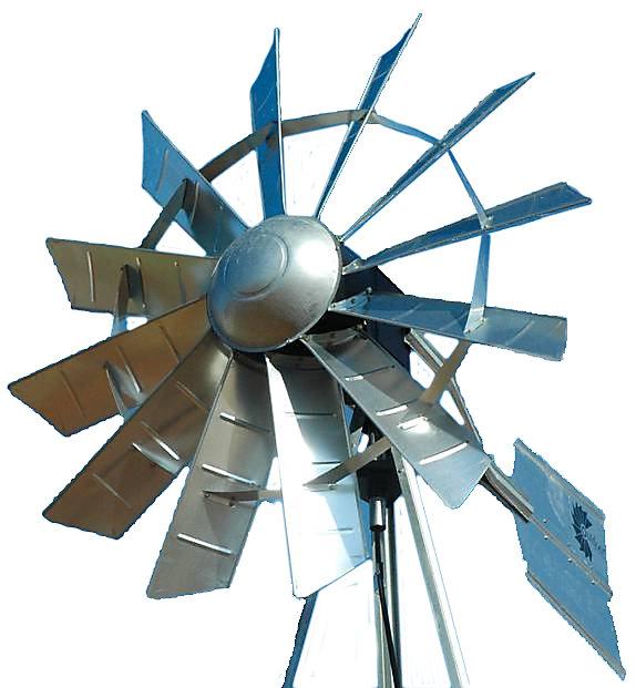 Functional Windmill Head
