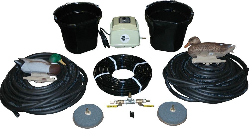 Ensemble daération électrique deluxe aermaster ld 4,0