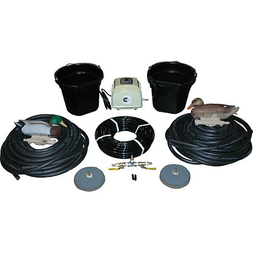 Outdoor Water Solutions AerMaster LD 4.0 CFM Electric Aeration Deluxe Pack
